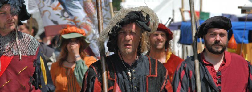 Gemeinsames Mittelalter-Programm in Reutte und Füssen