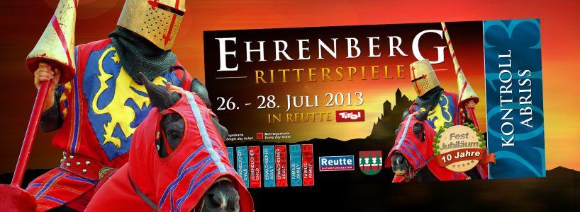Das perfekte Geschenk: Eintrittskarten für die Ritterspiele Ehrenberg 2013